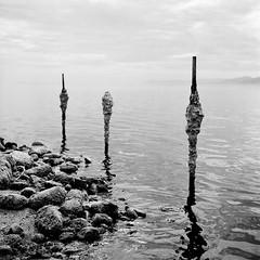 Three Salty Pillars
