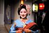 On Her Way (leadenhall) Tags: japan kyoto geisha gion mameharu