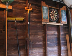 dartboard installation complete