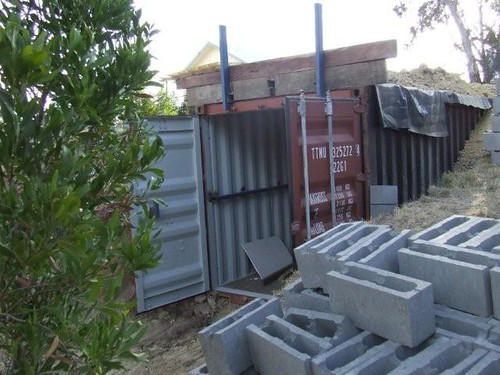 Images Of The Bushfire Bunker Installation Health