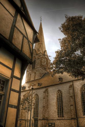 Werne - St. Christophorus und Pfarrheim 02
