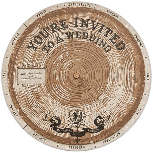 I fell in love with Lauren Venell 39s handmade DIY wedding invites