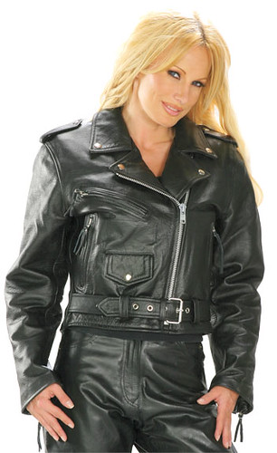 Leather up jackets
