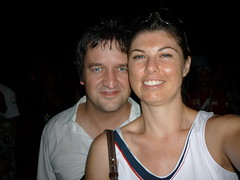 Lorna & me at the Jamiroquai concert