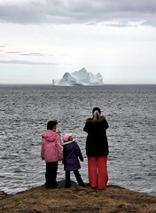 Iceberg Watching (Karen_Chappell) Tags: ocean people newfoundland atlantic iceberg quidividi