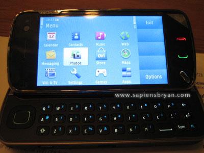 Nokia N97 Phone Landscape View