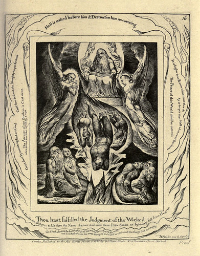 006-El libro de Job-William Blake 1825