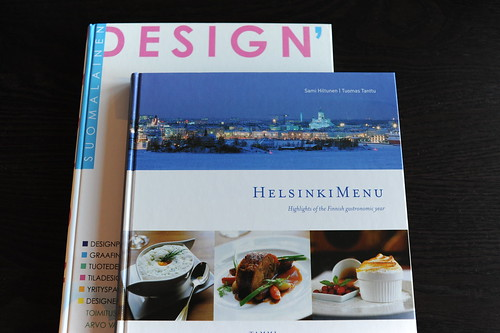 Finlandのデザイン本とHelsinkiMenuの本