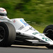 Hamish Somerville drives the Williams FW07B of Alan Jones at Limerock Park in May 2009