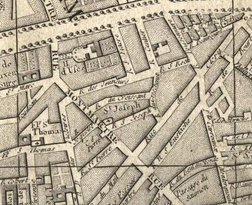 rue du croissant 1787