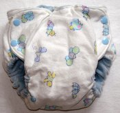 Medium Fattycakes Fitted  *Recycled Flannel Blanket Outer*