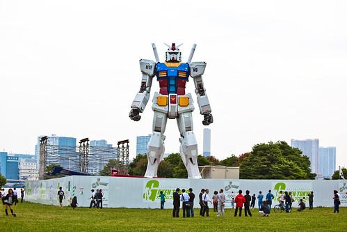 Gundam tamaño real Tokio