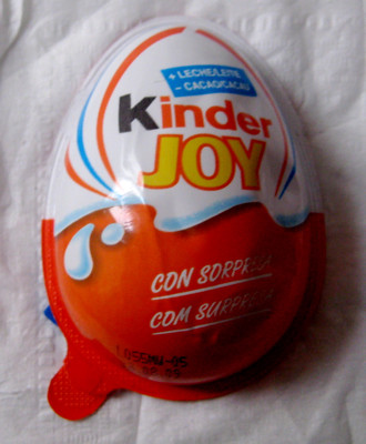 Kinder Joy Eggs - Illegal in the US?