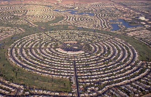 Sun City West Az >> 6 Intriguingly Shaped Communities As Seen On Google Maps