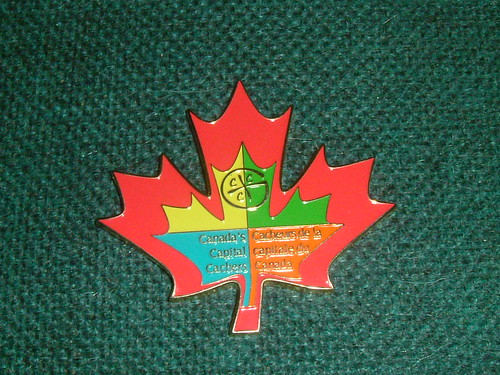 Front of the Canada's Capital Cachers Geocoin