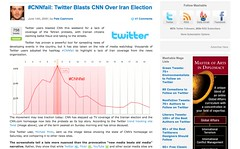 Twitter Blasts CNN Over Iran Election_1245606899119