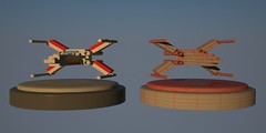 Lego Xwing (GregAmato) Tags: fighter lego wing x