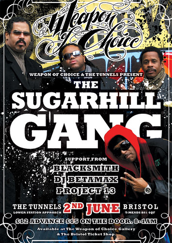 Sugarhill Gang flyer