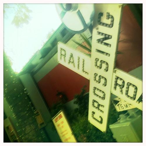 train depot...
