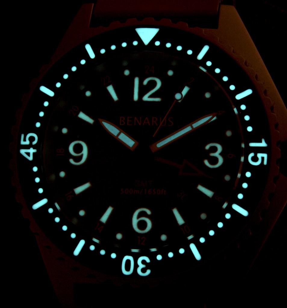 Benarus Worldiver GMT Quartz 4566691200_cb91183ac7_b
