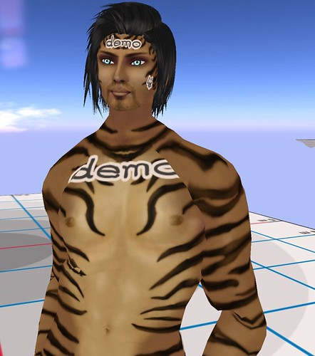 Temenos Island Voodoo Tiger Neko Male Dawn Style Choco May 2 2010 0002