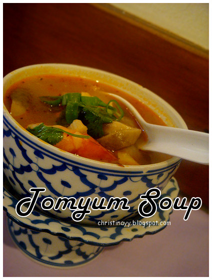 Thai Cottage Toowoomba: Tomyum Soup