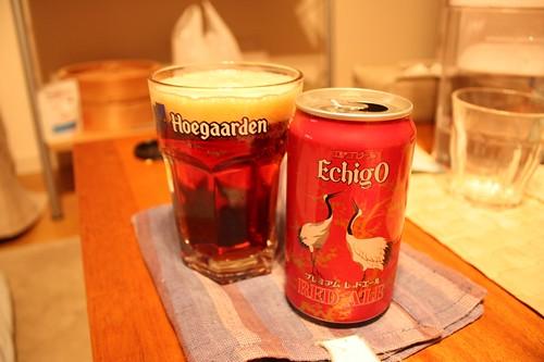 エチゴビールのレッドエール