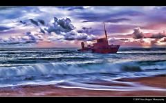 P2273509-Editd (Steve Daggar) Tags: beach sunrise newcastle shipwreck sygna stocktonbeach fotocompetition fotocompetitionbronze fotocompetitionsilver