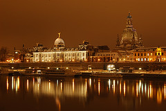 Along Elbe riverbank - Dresden