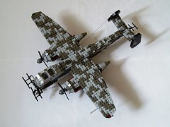Heinkel He-219 Uhu (3) (Mad physicist) Tags: germany lego aircraft wwii heinkel ww2 nightfighter