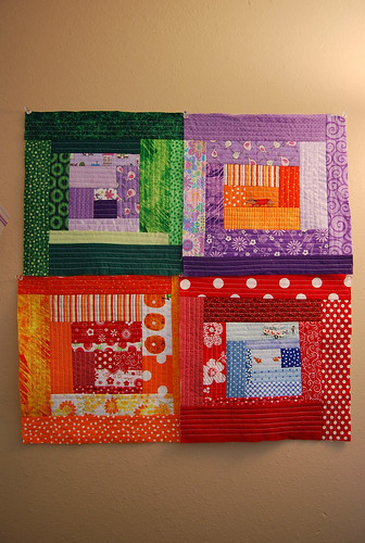 Four Blocks for QuiltaLong