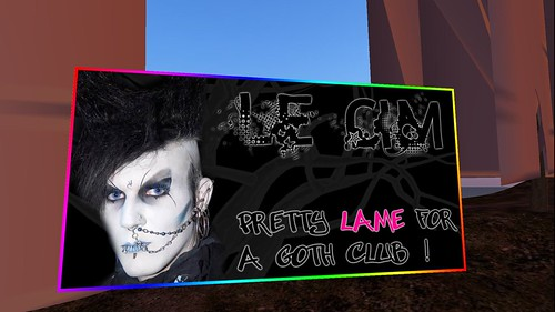 goth music at le cimetiere