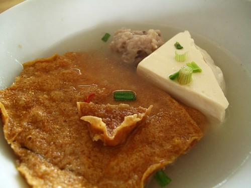 IMG_0169  Fried Beancurd and Stuffed Tofu