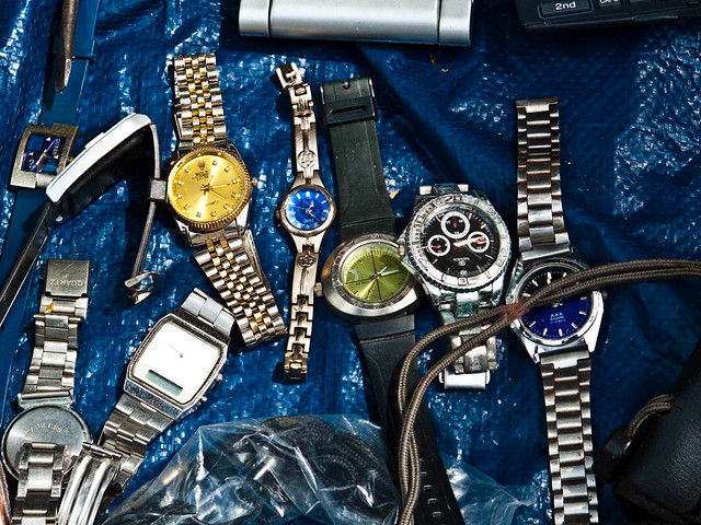 IMG_0638 Men's Watches , flea market , Penang