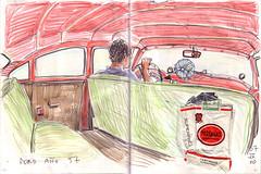 052-053 (Vincent Desplanche) Tags: urban sketch cuba sketchbook habana croquis carnetdevoyage colouredpencils cuadernosdeviaje