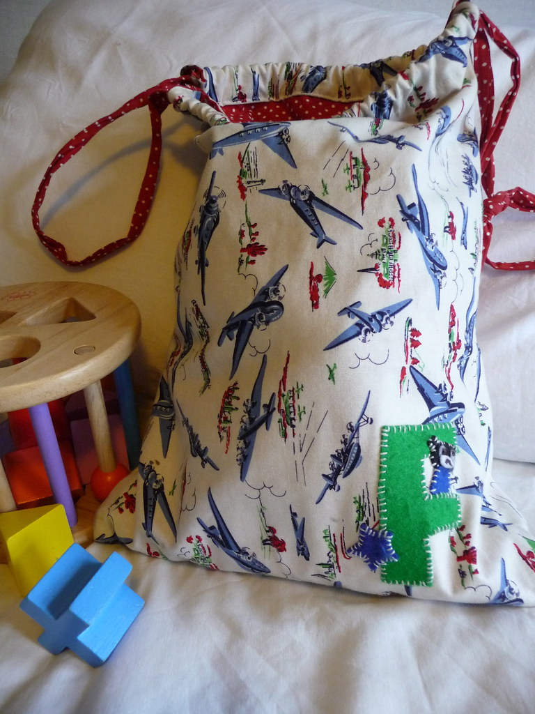 Personalised baby bag