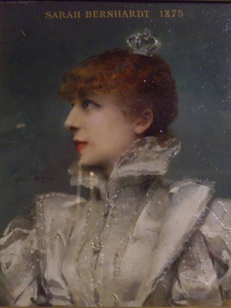 Portrait de Sarah Bernhardt (1875) - Louise Abbéma (1853-1927)
