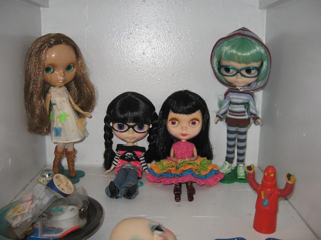 My little Blythe family