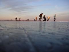 Cold metal (ruurdz) Tags: ice skating ijs schaatsen zuidlaardermeer schaatstocht