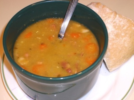 Split Pea Soup From Kitchen Sense