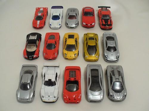 Edonis Ferrari Enzo FXX 575 GTC F50 Maserati MC12 McLaren F1 MB SLR CLK GTR