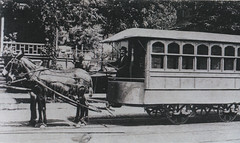 A horsecar. ~courtesy Milwaukee Public Library, from their Historic Photo collection