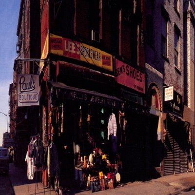 The Beastie Boys' classic 1989 album Paul's Boutique