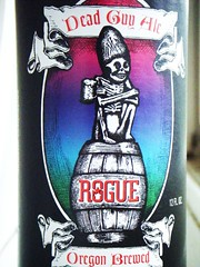 Rogue  Dead Guy Ale (McD22) Tags: beer oregon dead skeleton drink ale newport alcohol rogue hops microbrew microbrews deadguy oregonbrewingcompany