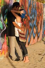 KL4_2114 (kirstography) Tags: men painting graffiti women kissing couples artists graffitipit venicebeachcalifornia candidpeople graffitiwalls kirstography
