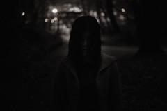 Jungle Crow (zeissizm) Tags: portrait bw woman monochrome japan canon dark eos 50mm kyoto shrine crow yoshida ef50mmf18 5d2 eos5dmarkii eos5dmark2