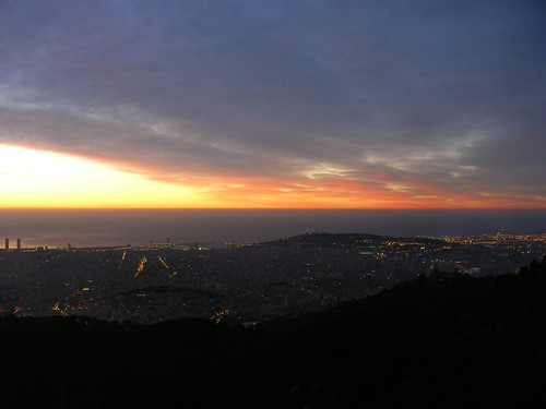 Another sunrise over Barcelona
