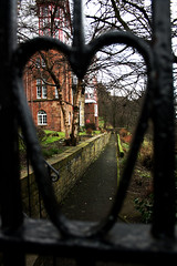 Walk the path to my heart.. (A blond-Tess) Tags: light house love smile scotland edinburgh heart sweet path frame inlove longing