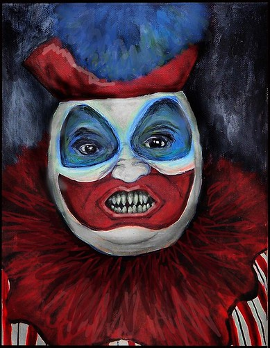 john wayne gacy paintings. John Wayne Gacy original
