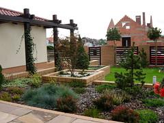 Projekty ogrodów,elementy architektury ogrodowej